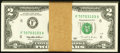 Fr. 1936-F $2 1995 Federal Reserve Notes. Ninety-eight Consecutive Examples. Very Choice Crisp Uncirculated. ... (Total:...