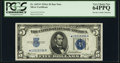 Fr. 1651* $5 1934A Silver Certificate. PCGS Very Choice New 64PPQ