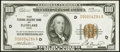 Fr. 1890-D $100 1929 Federal Reserve Bank Note. Choice About Uncirculated