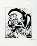 Original Comic Art:Illustrations, Karl Waller - Fantasy Art #32 Illustration Original Art (c. 1980s)....