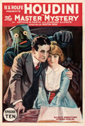 """Movie Posters:Serial, The Master Mystery (Octagon, 1919). Folded, Very Fine+. One Sheet (27.5"""" X 41"""") Chapter 10 -- """"The Binding Ring."""". ..."""