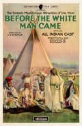 "Movie Posters:Western, Before the White Man Came (Arrow Film, 1920). Fine+ on Linen. One Sheet (27"" X 41"").. ..."