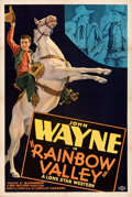 Movie Posters:Western, Rainbow Valley (Monogram, 1935). Very Fine- on Linen.
