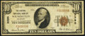Wilmington, DE - $10 1929 Ty. 1 The Central National Bank Ch. # 3395 Fine