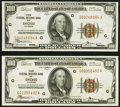 Fr. 1890-G $100 1929 Federal Reserve Bank Notes. Two Examples. About Uncirculated or Better. ... (Total: 2 notes)