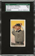Baseball Cards:Singles (Pre-1930), 1909-11 T206 Sweet Caporal 350/30 Hughie Jennings (Both Hands Showing) SGC 84 NM 7....