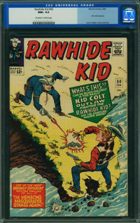 Rawhide Kid #50 (Marvel, 1966) CGC NM+ 9.6 Off-white to white pages