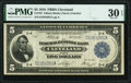 Fr. 787 $5 1918 Federal Reserve Bank Note PMG Very Fine 30 EPQ