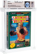 Video Games:Nintendo, Ring King - Wata 7.5 CIB [No Rev-A, Early Production], NES Data East 1987 USA....