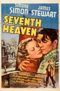"""Movie Posters:Romance, Seventh Heaven (20th Century Fox, 1937). Very Fine- on Linen. One Sheet (27"""" X 41"""") Style A.. ..."""