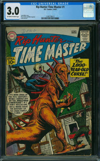Rip Hunter Time Master #1 (DC, 1961) CGC GD/VG 3.0 Off-white to white pages