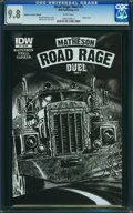 Modern Age (1980-Present):Miscellaneous, Road Rage: Duel #3 (IDW Publishing, 2012) CGC NM/MT 9.8 White pages.