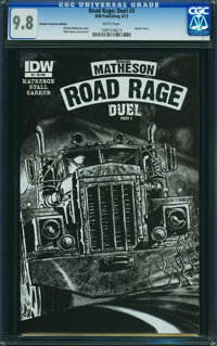 Road Rage: Duel #3 (IDW Publishing, 2012) CGC NM/MT 9.8 White pages