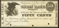 Watertown, NY - A.M. Utley, Payable at Union Bank 50¢ Oct. 1, 1862 Lithographic Proof Extremely Fine-About Uncircul...