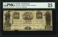 Apalachicola, FL- Commercial Bank of Florida $10 Dec. 1, 1835 G12 PMG Very Fine 25