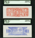 Confederate Notes:Group Lots, Confederate Chemicograph Fourth Printing circa 1957-58 Reverse 1 Backs.. $20 Bertram C467a PCGS Superb Gem New 68PPQ;. ... (Total: 2 notes)