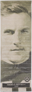 Football Collectibles:Others, Angelo Bertelli Oversized Banner....