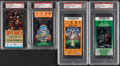 Football Collectibles:Tickets, 1972-2006 Super Bowl Ticket Stubs, Lot of 8.... (Total: 8 items)