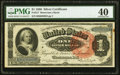 Fr. 217 $1 1886 Silver Certificate PMG Extremely Fine 40