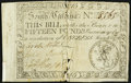 South Carolina March 6, 1776 £15 Fine-Very Fine