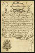 Colonial Notes:New Hampshire, Cohen Reprint New Hampshire April 1, 1737 Redated August 7, 1740 60s New.. ...