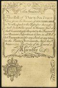 Colonial Notes:New Hampshire, Cohen Reprint New Hampshire April 1, 1737 3s Choice About New.. ...