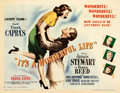 "Movie Posters:Drama, It's a Wonderful Life (RKO, 1946). Very Fine- on Paper. Half Sheet (22"" X 28"") Style B.. ..."