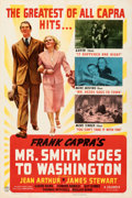 """Movie Posters:Drama, Mr. Smith Goes to Washington (Columbia, 1939). Fine/Very Fine on Linen. One Sheet (27.5"""" X 41"""") Style C.. ..."""