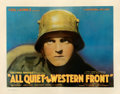 """Movie Posters:Academy Award Winners, All Quiet on the Western Front (Universal, 1930). Fine on Paper. Half Sheet (22"""" X 28"""").. ..."""