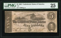 Confederate Notes:1862 Issues, T53 $5 1862 PF-13 Cr. 388 PMG Very Fine 25.. ...