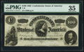 Confederate Notes:1862 Issues, T49 $100 1862 PF-2 Cr. 348 PMG Choice Very Fine 35.. ...