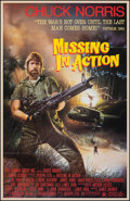 """Movie Posters:Action, Missing in Action & Other Lot (Cannon, 1984). Folded, Very Fine. One Sheets (2) (27"""" X 41""""). Stan Watts Artwork. Action.. ... (Total: 2 Items)"""