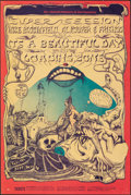 """Movie Posters:Rock and Roll, Super Session at Fillmore West (Bill Graham, 1968). Very Fine-. Window Card (14"""" X 22"""") Lee Conklin Artwork. Rock and Roll...."""