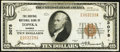 National Bank Notes:Kansas, Topeka, KS - $10 1929 Ty. 1 The Central National Bank Ch. # 3078 About Uncirculated.. ...
