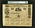 Austin, TX- Republic of Texas Certificate of Stock $500 June 15, 1840 Cr. 40F Medlar UNL PMG Very Fine 30