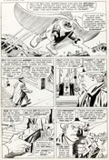 Original Comic Art:Panel Pages, Jack Kirby and George Tuska Tales of Suspense #73 Story Page 9 Original Art (Marvel, 1966)....