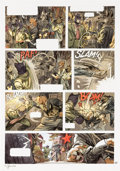 Original Comic Art:Panel Pages, Juanjo Guarnido Blacksad Volume 5 Amarillo Story Page 38 Illustration Original Art (Dargaud Benelux, 2...