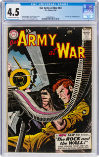 Our Army at War #83 (DC, 1959) CGC VG+ 4.5 Off-white to white pages