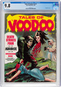 Magazines:Horror, Tales of Voodoo V2#1 (Eerie Publications, 1969) CGC NM/MT 9.8 White pages....