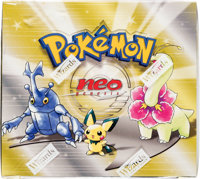 Pokémon Unlimited Edition Neo Genesis Set Sealed Booster Box (Wizards of the Coast, 2000)