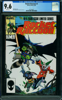 Rocket Raccoon #2 (Marvel, 1985) CGC NM+ 9.6 White pages