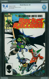 Rocket Raccoon #2 - CBCS CERTIFIED (Marvel, 1985) CGC NM 9.4 White pages