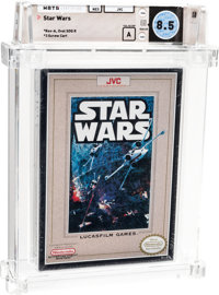 Star Wars - Wata 8.5 A Sealed, NES JVC 1991 USA