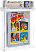 Video Games:Nintendo, A Boy and His Blob - Wata 9.0 A+ Sealed, NES Absolute 1990 USA....