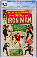 Silver Age (1956-1969):Superhero, Tales of Suspense #57 (Marvel, 1964) CGC NM- 9.2 White pages....