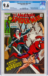 The Amazing Spider-Man #101 (Marvel, 1971) CGC NM+ 9.6 Off-white pages