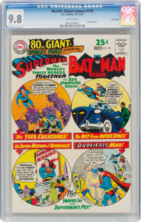 World's Finest Comics #170 Twin Cities Pedigree (DC, 1967) CGC NM/MT 9.8 White pages