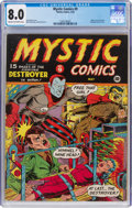 Golden Age (1938-1955):Superhero, Mystic Comics #9 (Timely, 1942) CGC VF 8.0 Cream to off-white pages....