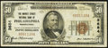National Bank Notes:Pennsylvania, Philadelphia, PA - $50 1929 Ty. 1 The Market Street National Bank Ch. # 3684 Very Fine.. ...