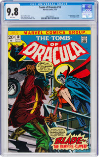 Tomb of Dracula #10 (Marvel, 1973) CGC NM/MT 9.8 White pages